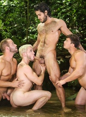 Horny Diego Sans,Luke Adams,Colton Grey,