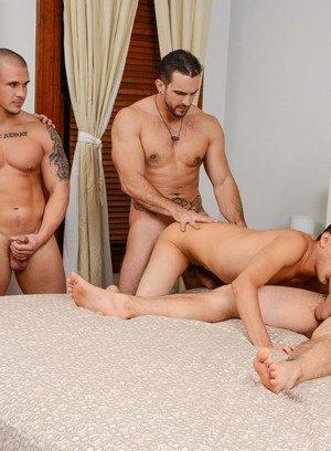 Hunky Gay Cameron Foster,Phenix Saint,Aspen,Tino Cortez,