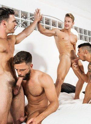 Good Looking Guy Hector De Silva,Klein Kerr,Darius Ferdynand,