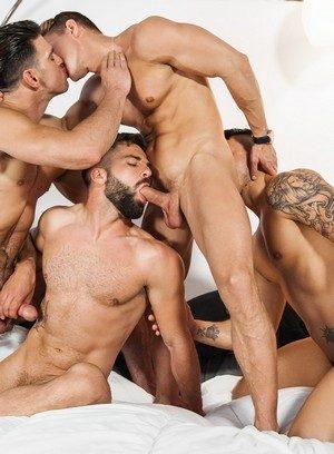 Hunky Gay Hector De Silva,Klein Kerr,Darius Ferdynand,