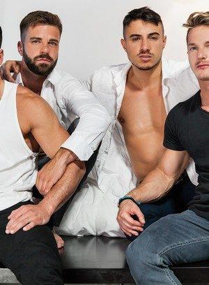 Sexy and confident Darius Ferdynand,Klein Kerr,Hector De Silva,