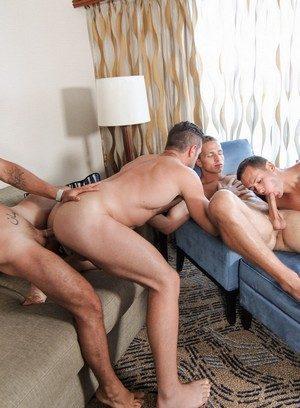 Hot Boy Vadim Black,Landon Mycles,Alex Mecum,Brenner Bolton,