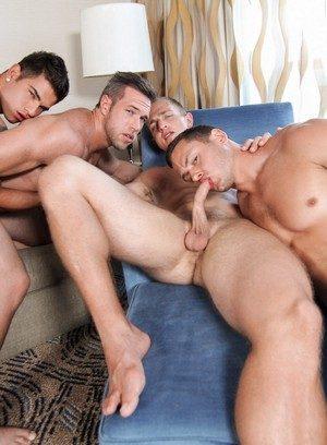 Naked Gay Vadim Black,Landon Mycles,Alex Mecum,Brenner Bolton,