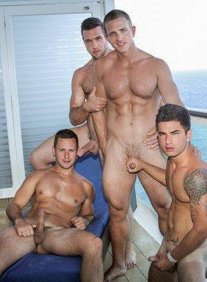 Wild Gay Vadim Black,Landon Mycles,Alex Mecum,Brenner Bolton,