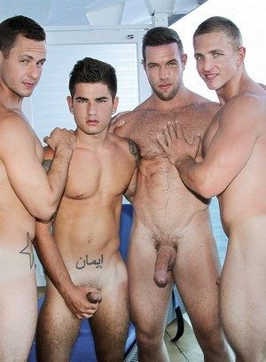Handsome Guy Vadim Black,Landon Mycles,Alex Mecum,Brenner Bolton,