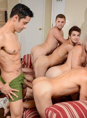 Sporty Hunk Rafael Alencar,Dylan Knight,Jack Radley,Zac Stevens,Johnny Rapid,