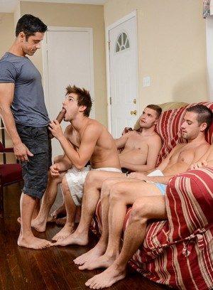 Big Dicked Rafael Alencar,Dylan Knight,Jack Radley,Zac Stevens,Johnny Rapid,