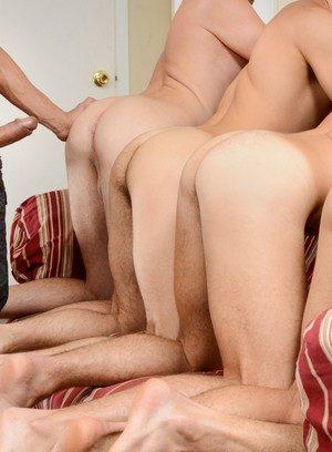 Muscle man Rafael Alencar,Dylan Knight,Jack Radley,Zac Stevens,Johnny Rapid,