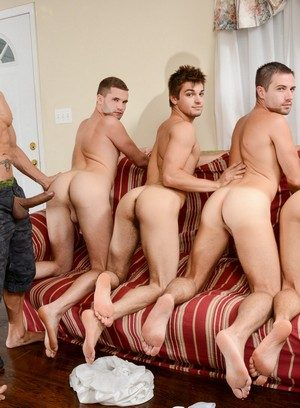 Handsome Guy Rafael Alencar,Dylan Knight,Jack Radley,Zac Stevens,Johnny Rapid,