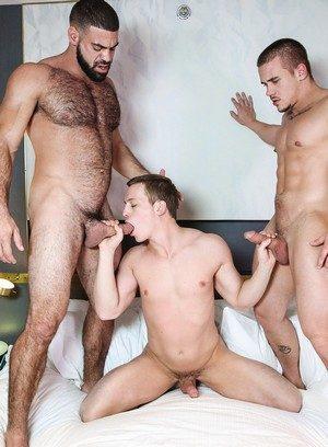 Hunky Gay Ricky Larkin,Tommy Regan,Adam Bryant,