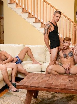Hunky Gay Darin Silvers,Armando De Armas,Adam Bryant,Bennett Anthony,Johnny Rapid,
