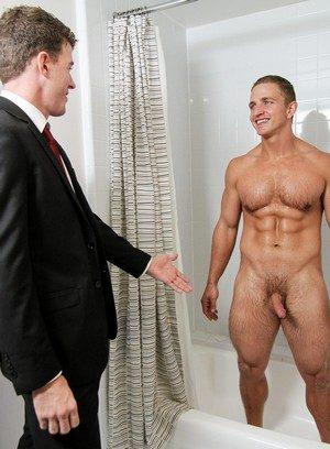 Naked Gay Landon Mycles,Jj Knight,