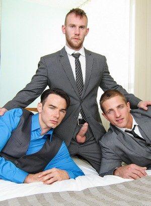 Sexy Guy Damien Michaels,Addison Graham,Landon Mycles,