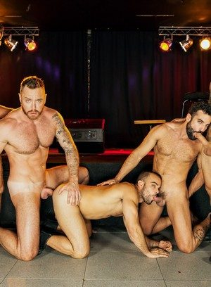 Naked Gay Damien Crosse,Pierre Fitch,Jimmy Fanz,Dominique Hansson,Abraham Al Malek,