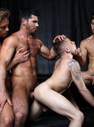 Sporty Hunk Billy Santoro,Felix Warner,Joey Cooper,