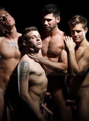 Sexy Gay Billy Santoro,Felix Warner,Joey Cooper,