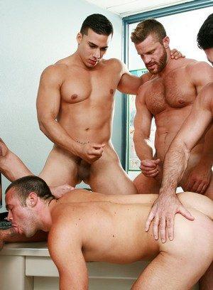 Sexy and confident Billy Santoro,Braden Charron,Landon Conrad,Mike De Marko,Topher Di Maggio,