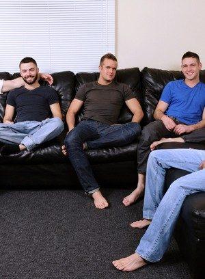 Cock Hungry Connor Patricks,Cooper Reed,Duncan Black,Jimmy Johnson,Josh Long,