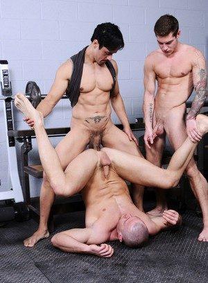Hunky Gay Vance Crawford,Jessy Dean,Rafael Alencar,