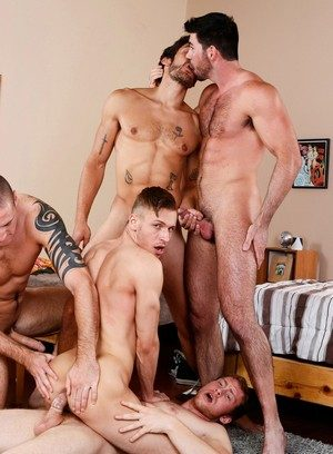 Hunky Gay Connor Kline,Colden Armstrong,Billy Santoro,Dale Cooper,Connor Maguire,