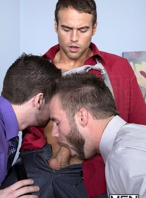 Muscle man Rocco Reed,Chris Bines,Andrew Stark,