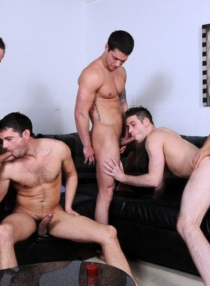 Sexy and confident Donny Wright,Cooper Reed,Haigen Sence,Duncan Black,