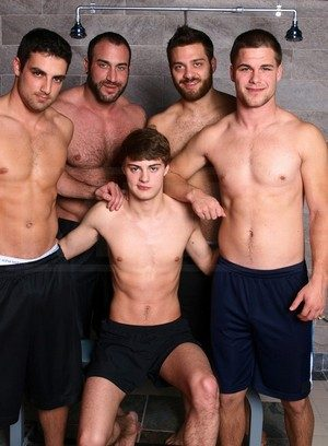 Hot Guy Hunter Page,Jack King,Jimmy Johnson,Tommy Defendi,Spencer Reed,