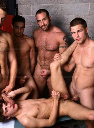 Cock Hungry Guy Hunter Page,Jack King,Jimmy Johnson,Tommy Defendi,Spencer Reed,