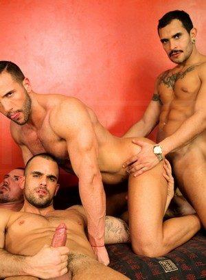 Sporty Hunk Donato Reyes,Marco Sessions,Lucio Saints,Issac Jones,Damien Crosse,