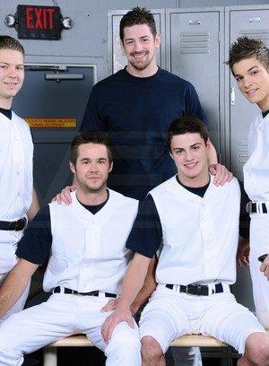 Hot Guy Hunter Page,Riley Banks,Mike De Marko,Andrew Stark,Johnny Rapid,