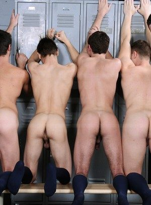Naked Gay Hunter Page,Johnny Rapid,Andrew Stark,Mike De Marko,Riley Banks,