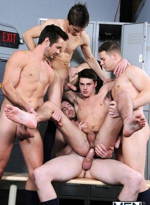 Cocky Boy Hunter Page,Johnny Rapid,Andrew Stark,Mike De Marko,Riley Banks,