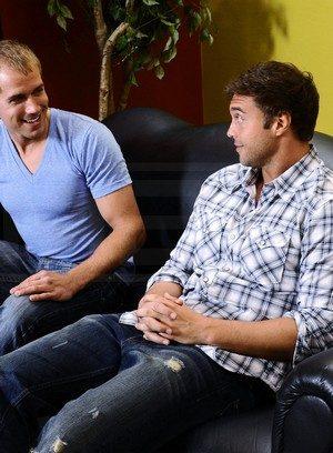 Cute Gay Brandon Lewis,Rocco Reed,