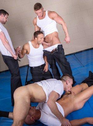 Hot Boy Andrew Stark,Connor Kline,Johnny Ryder,Liam Magnuson,Rocco Reed,