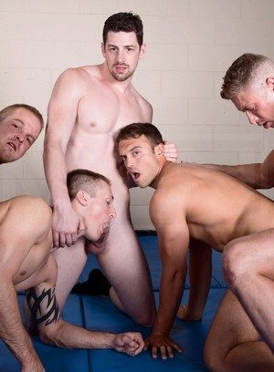 Hunky Gay Andrew Stark,Connor Kline,Johnny Ryder,Liam Magnuson,Rocco Reed,