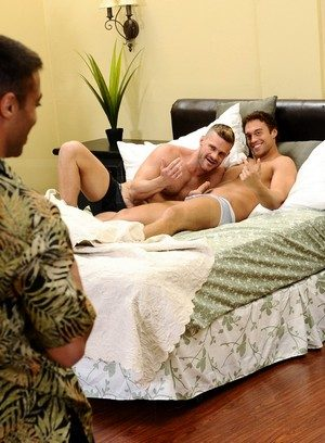Hot Gay Micah Brandt,Landon Conrad,Rocco Reed,