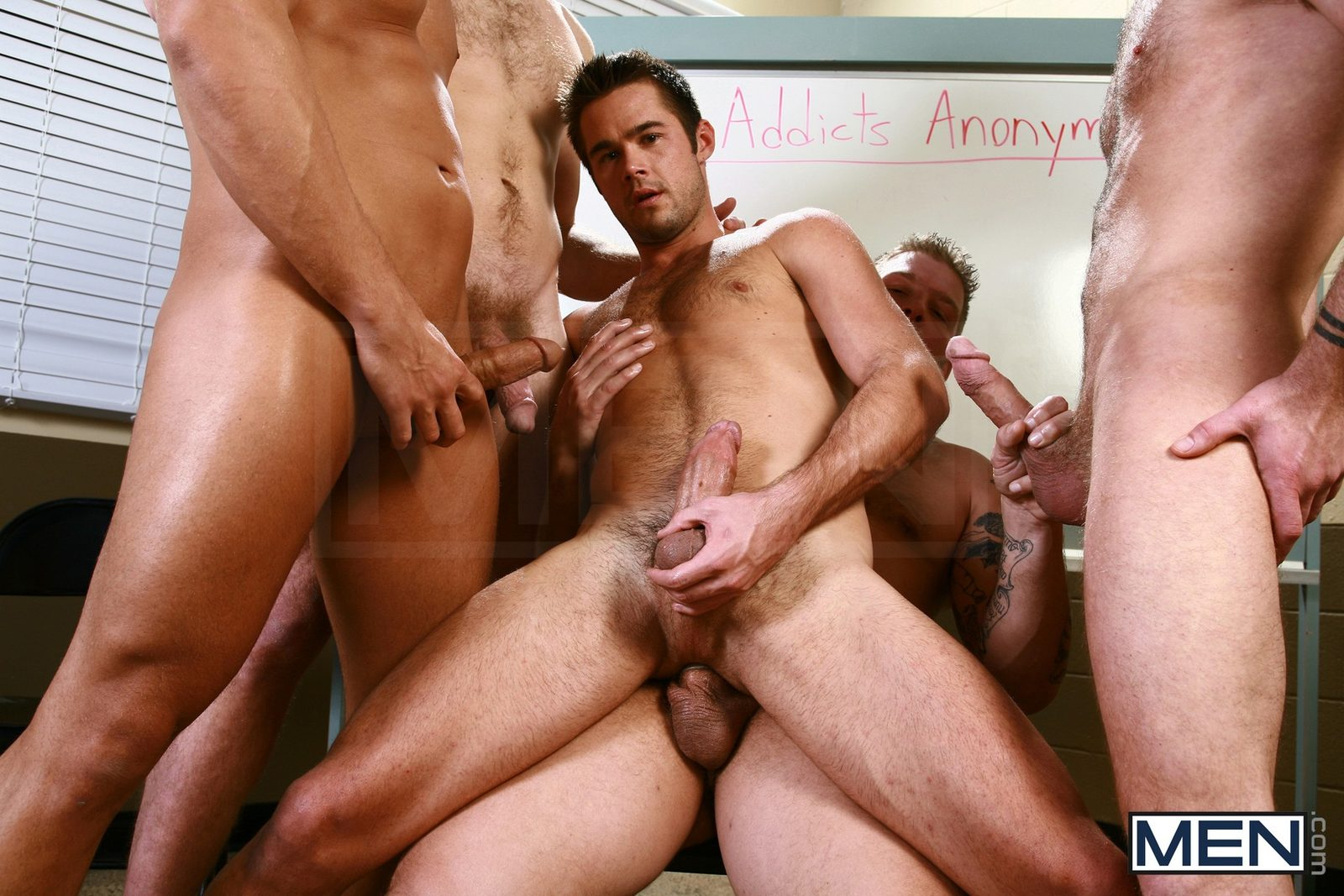 Trevor Knight, Colby Keller, Colby Jansen, Rocco Reed And