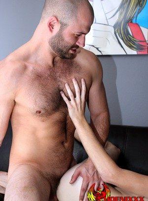 Hunky Gay David Chase,