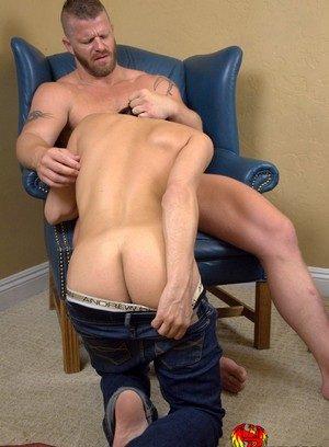 Muscle man Jeremy Stevens,