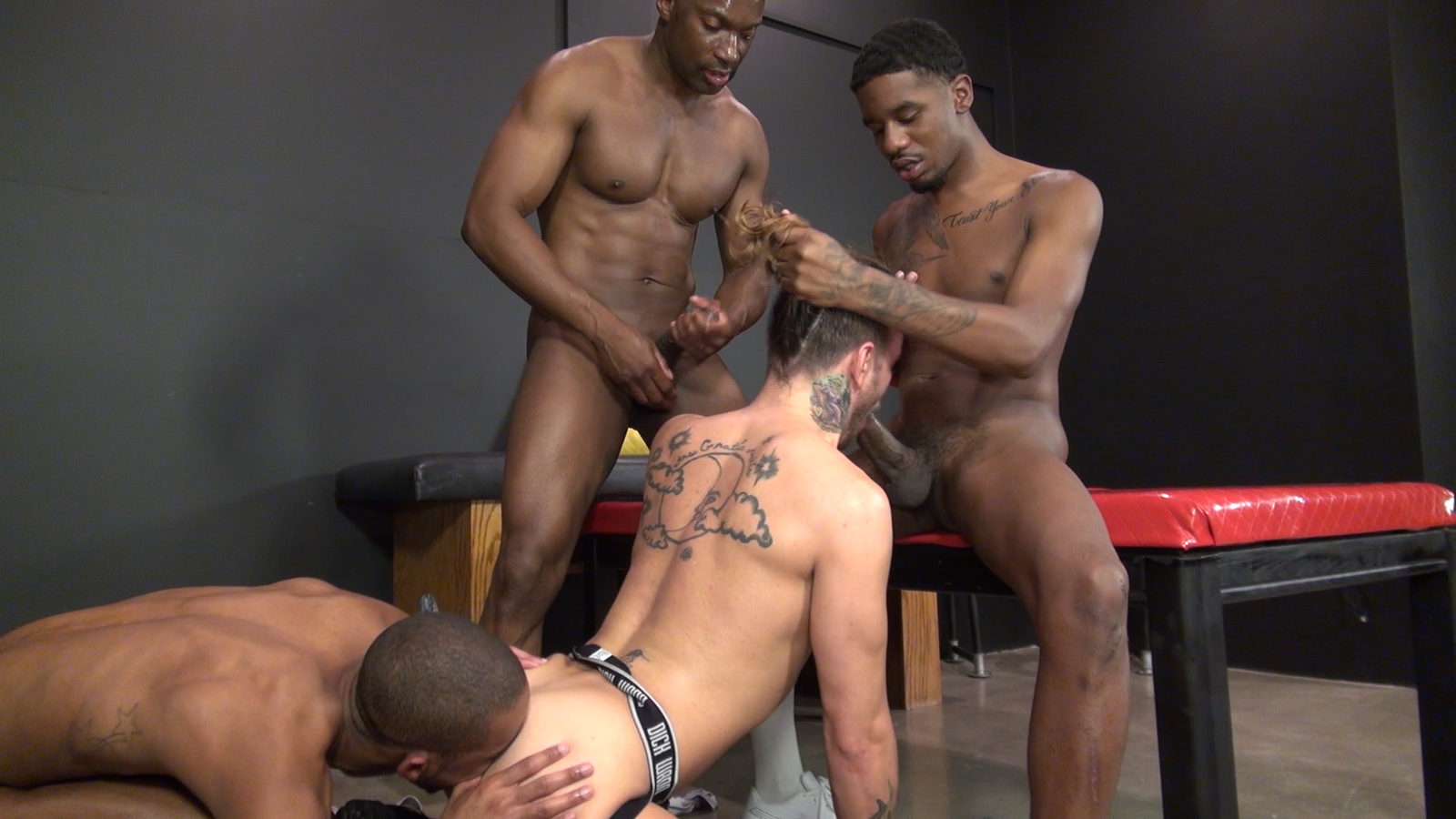 Sexy black guys fucking random objects, phatazz and pussy