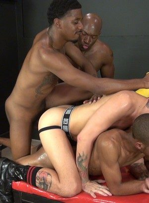 Big Dicked Gay Champ Robinson,Tigger Redd,Lukas Cipriani,