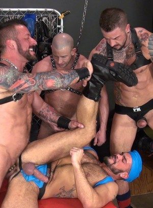 Cute Gay Johnny Five,Dolf Dietrich,Shay Michaels,Hugh Hunter,Aarin Asker,