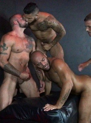 Big Dicked Gay Brett Bradley,Mario Cruz,Leo Forte,Sean Duran,