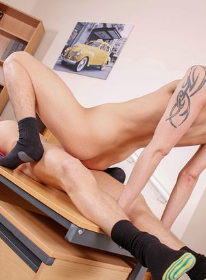 Horny Gay Connor Levi,Reece Bentley,