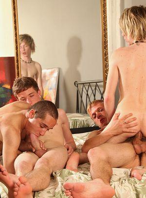 Cute Gay Martin Hernest,Gary Damer,Antony Simone,Stephan Garrance,