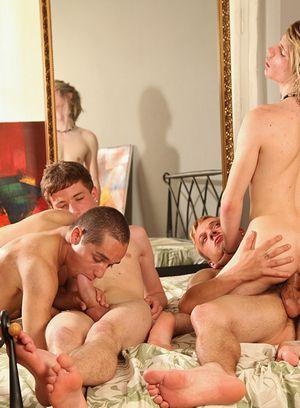 Handsome Guy Antony Simone,Stephan Garrance,Martin Hernest,Gary Damer,