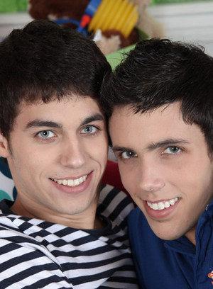 Cute Gay Brendan Tyler,Lucas Sky,