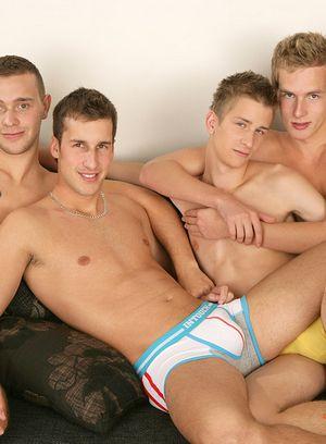 Hot Gay David Gold,Thomas Fiaty,Patrik Jensen,Chester Pool,