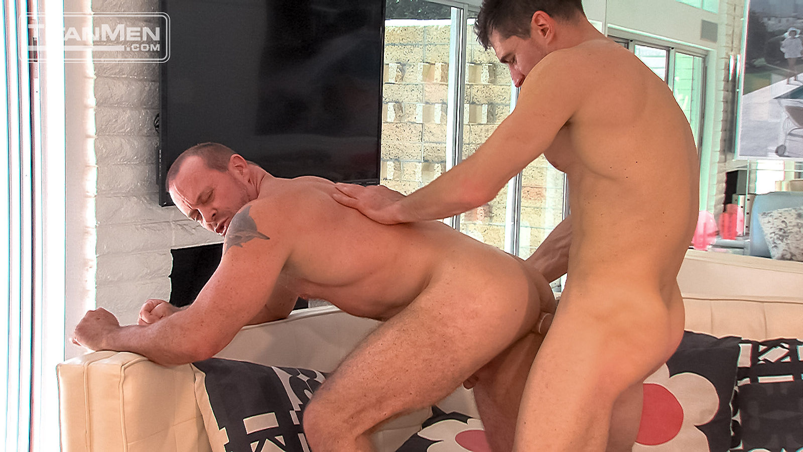 fat hubby in pantyhose gay anal sex