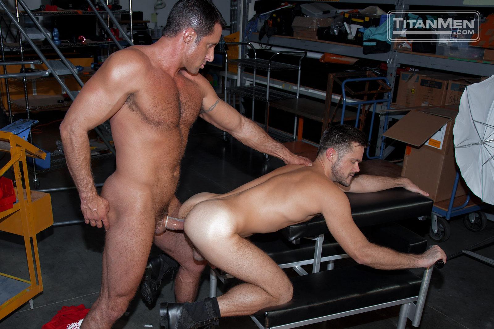 Titanmen man asses naked